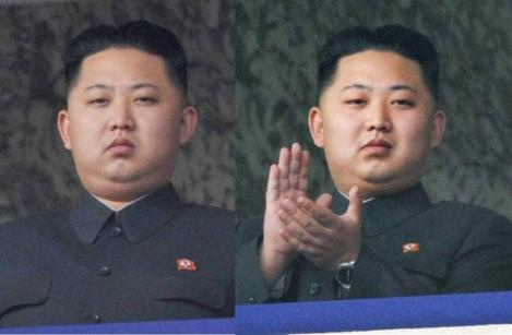 今は太った金正恩氏の写真