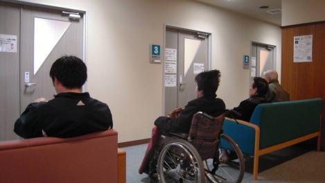 脳外科病院での待合室でデジカメ写真を撮ってみた