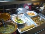 炒め物、煮物が中心