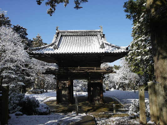 河之内・金毘羅寺雪景色 130118 05