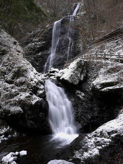 白猪の滝・氷瀑 130125 01