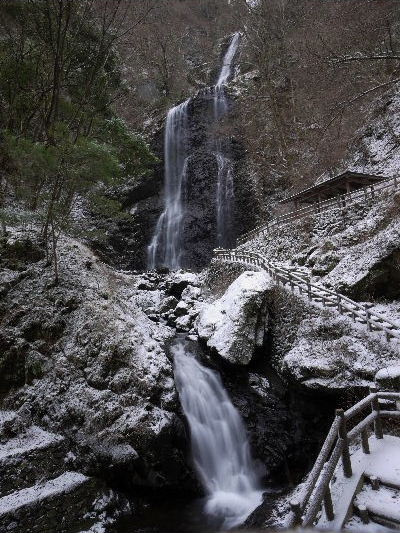 白猪の滝・氷瀑 130125 04