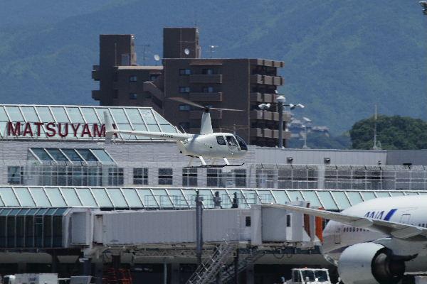 雄飛航空 ロビンソンR44ⅡJA77YC RJOM 130710 02