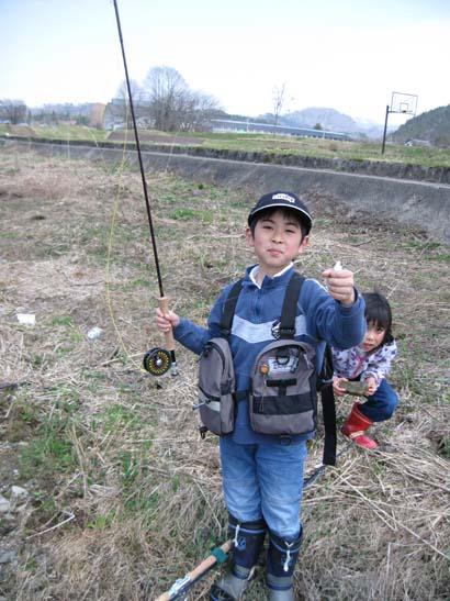 オイカワを釣る