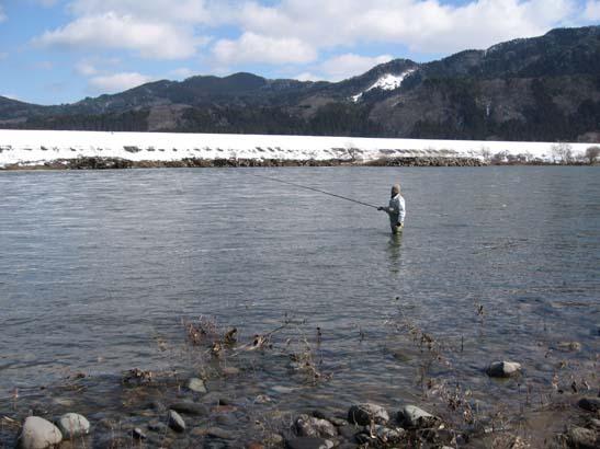まつ釣りの風景