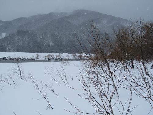 また冬の匂いの日が・・・
