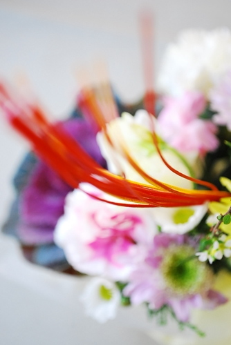 迎春アレンジメントDSC_074