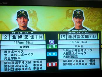 絵日記1・18タイガース党新人4