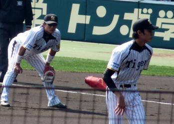 絵日記3・10日ハム藤浪5
