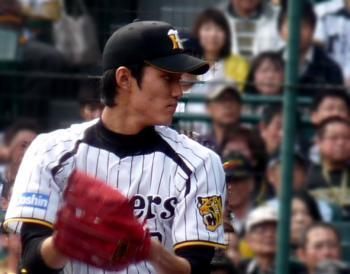 絵日記4・21横浜藤浪1
