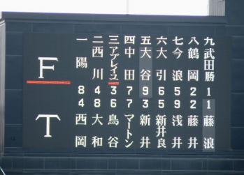 絵日記6・20スタメン