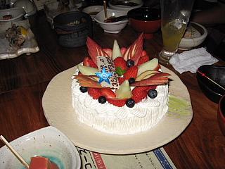 mt 誕生日ケーキ