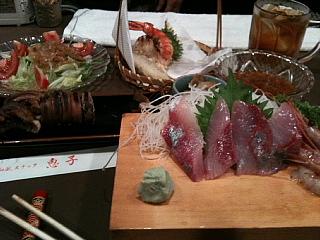 fukui dinner