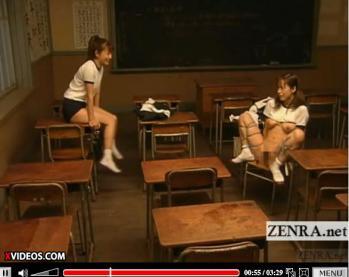 Subtitled lesbian Japanese schoolgirl classroom bondage - XVIDEOS.COM