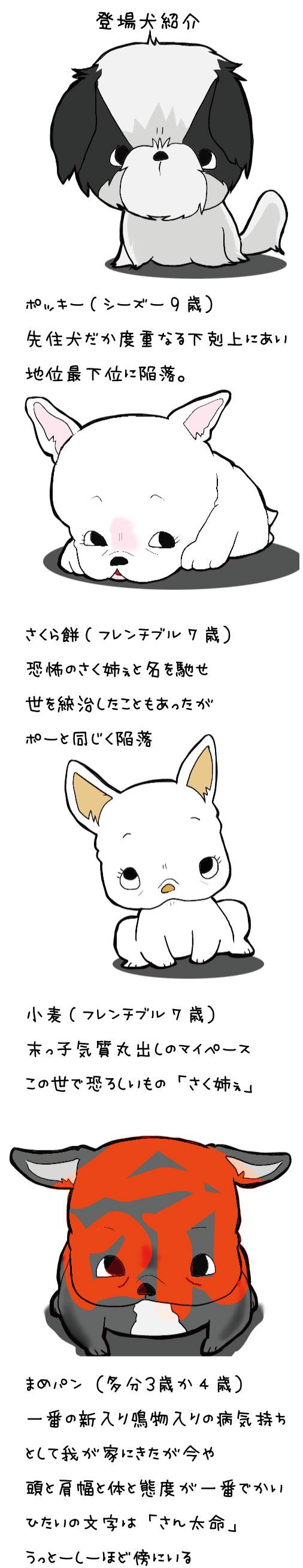 登場犬紹介