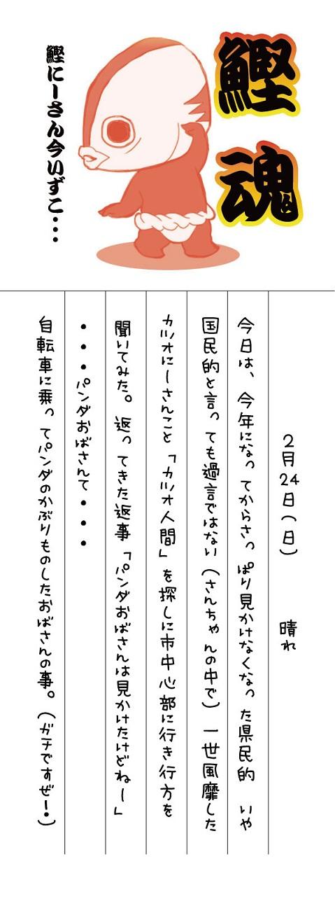 カツオにーさん絵日記