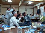 091012高知・湯浅誠さん講演会後懇親会