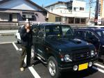 3月26日 RYUちゃんと相棒のジムニー