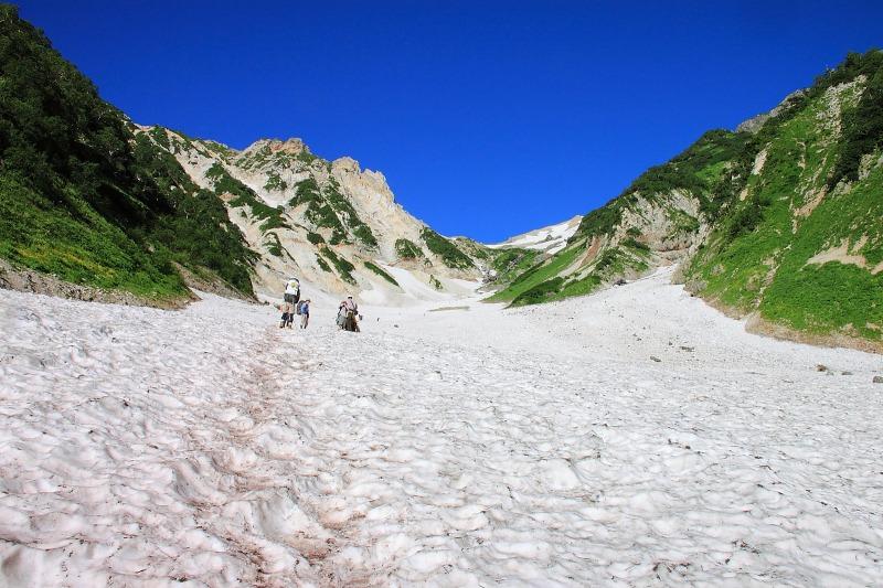2012年8月4~5日 白馬三山縦走002