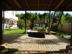 メッツァホステルの庭