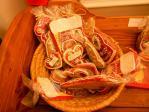 伝統のお菓子の飾り