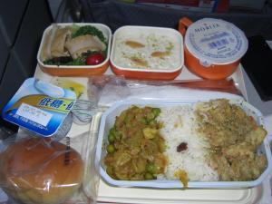 エアーインディア機内食