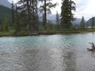 Water fall lake