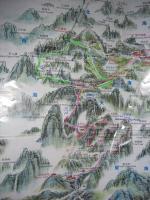 黄山マップ
