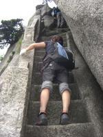 この階段がつらい