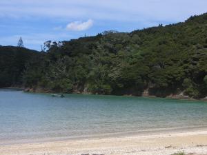 のどかなビーチ