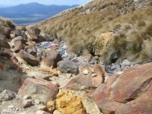 ごろっごろの岩