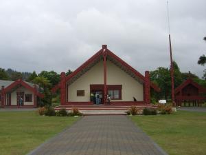 マオリ族の建物