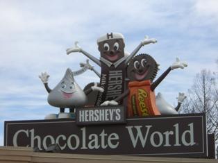 ハーシーズ・チョコレート工場