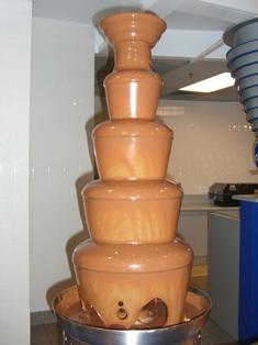チョコレートシャワー