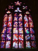 聖ヴィート内ステンドグラス