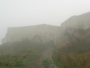 スピシュ城城壁
