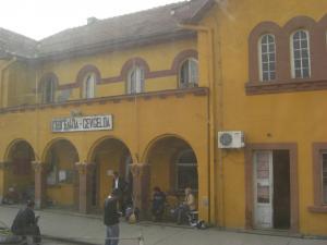 マケドニア側イミグレ駅