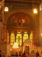 アギオス・ディミトリオス教会内部