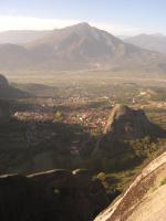 メテオラからの景色