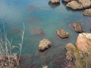 地中海の碧さ