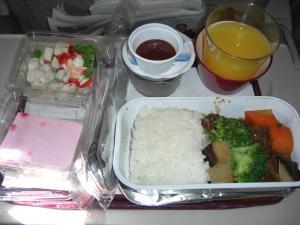 アシアナ航空機内食