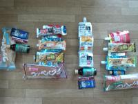 7耐 実際の補給食