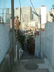 高輪の小道