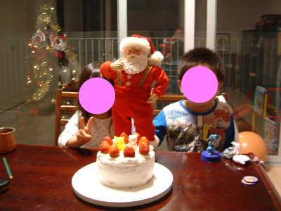 クリスマスケーキ6