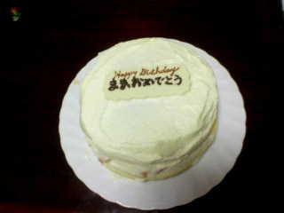 ママ誕生ケーキ