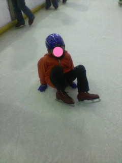 初スケート3