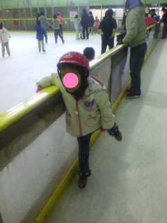 初スケート2