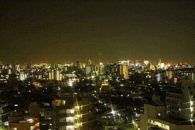 つかさのブログ-ベランダ夜景
