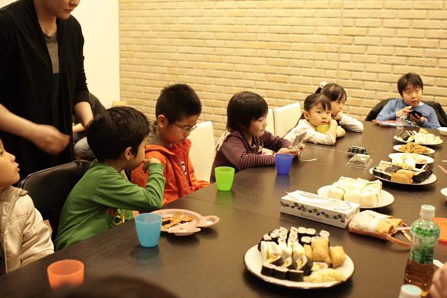 つかさのブログ-3年クリスマス会