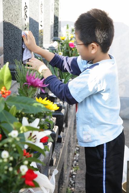 つかさのブログ-お墓掃除